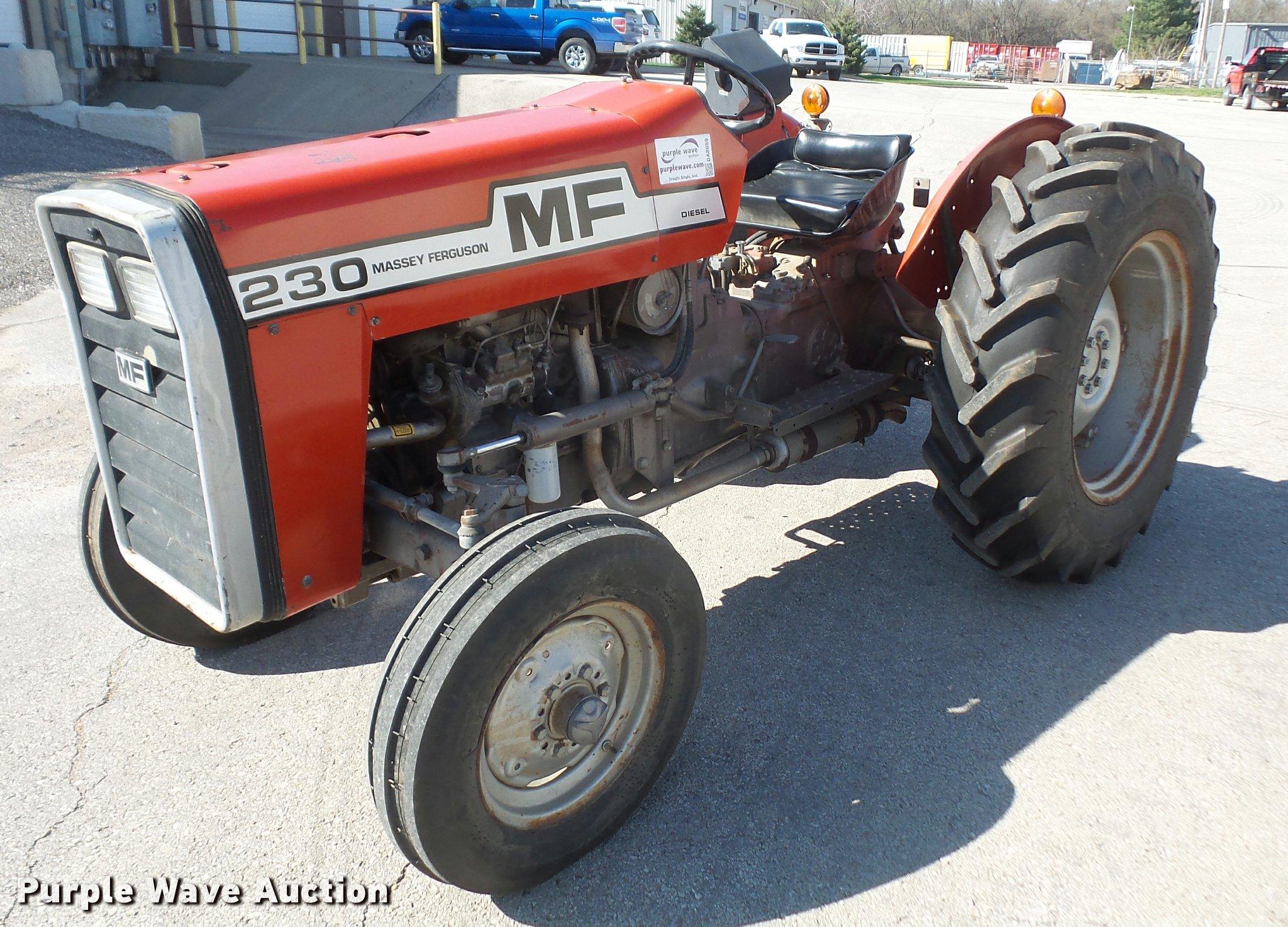 DA8059 image for item DA8059 1982 Massey-Ferguson 230 tractor