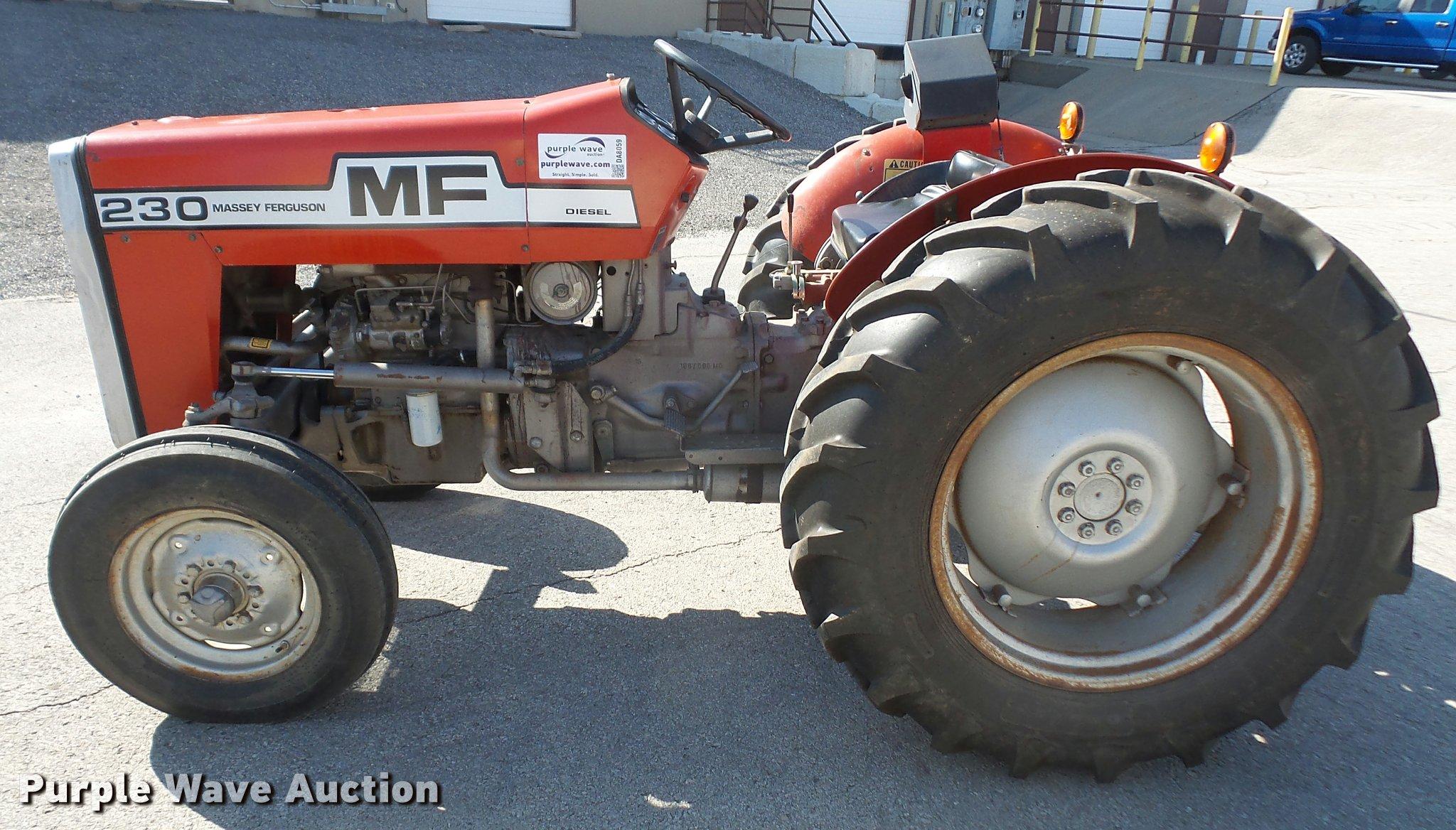 ... Massey-Ferguson 230 tractor Full size in new window ...