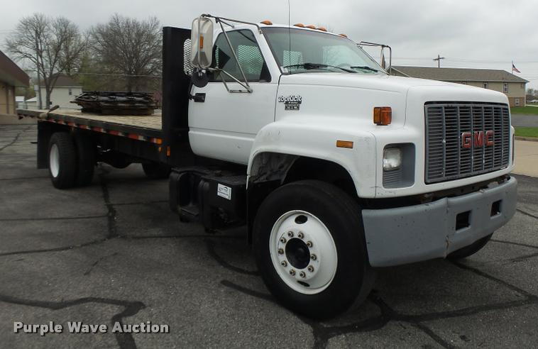 1994 GMC TopKick flatbed truck | Item DB1304 | SOLD! May 4 T