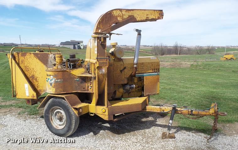 Vermeer BC1250 wood chipper | Item CB9965 | SOLD! May 10 Veh