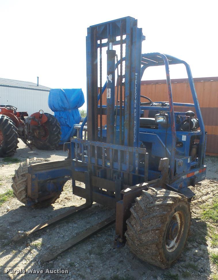 1996 Teledyne Princeton D5000 Piggyback Forklift