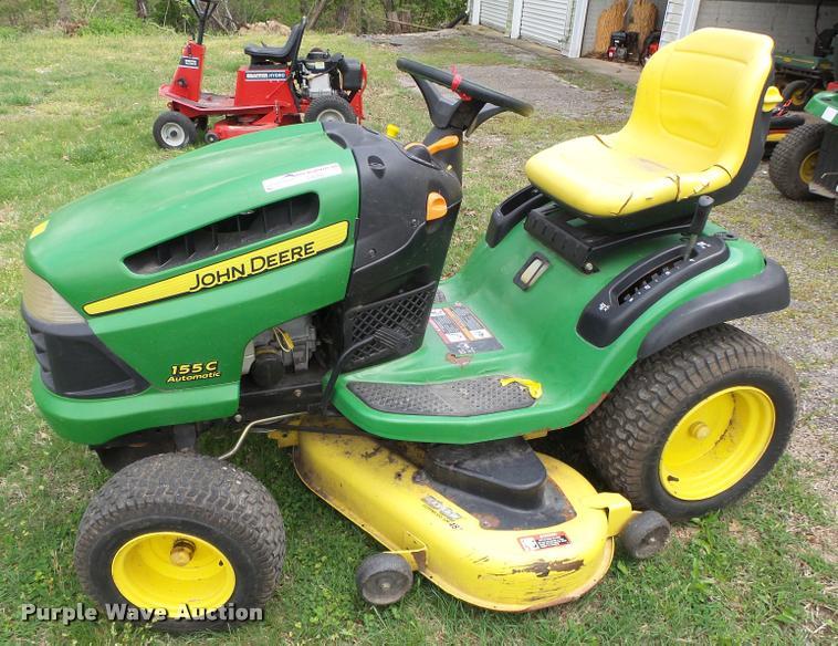 John Deere Lawn Mowers For Sale >> John Deere 155c Lawn Mower Item Da9087 Sold May 10 Vehi