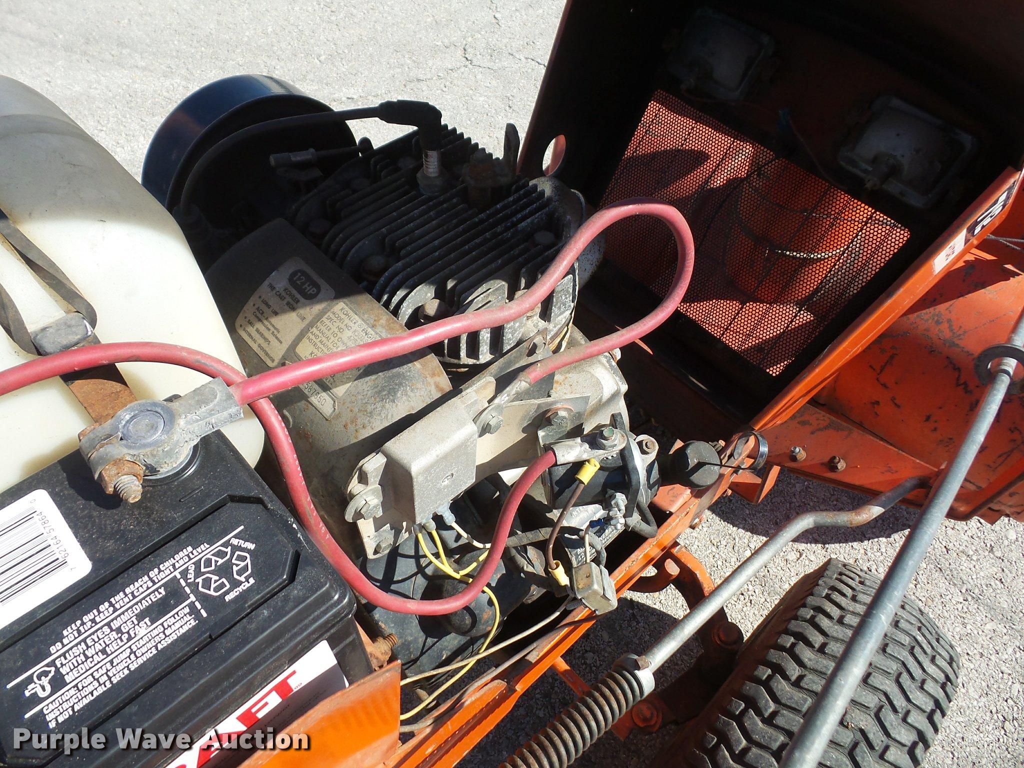 Allis Chalmers 712 Hydro Garden Tractor
