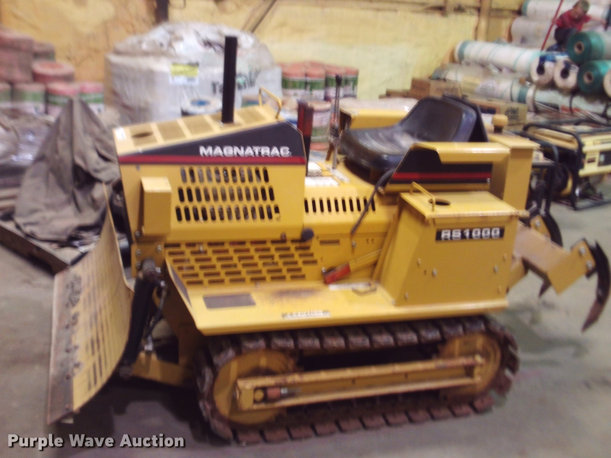 Magnatrac RS1000 dozer | Item DJ9789 | SOLD! May 10 Vehicles