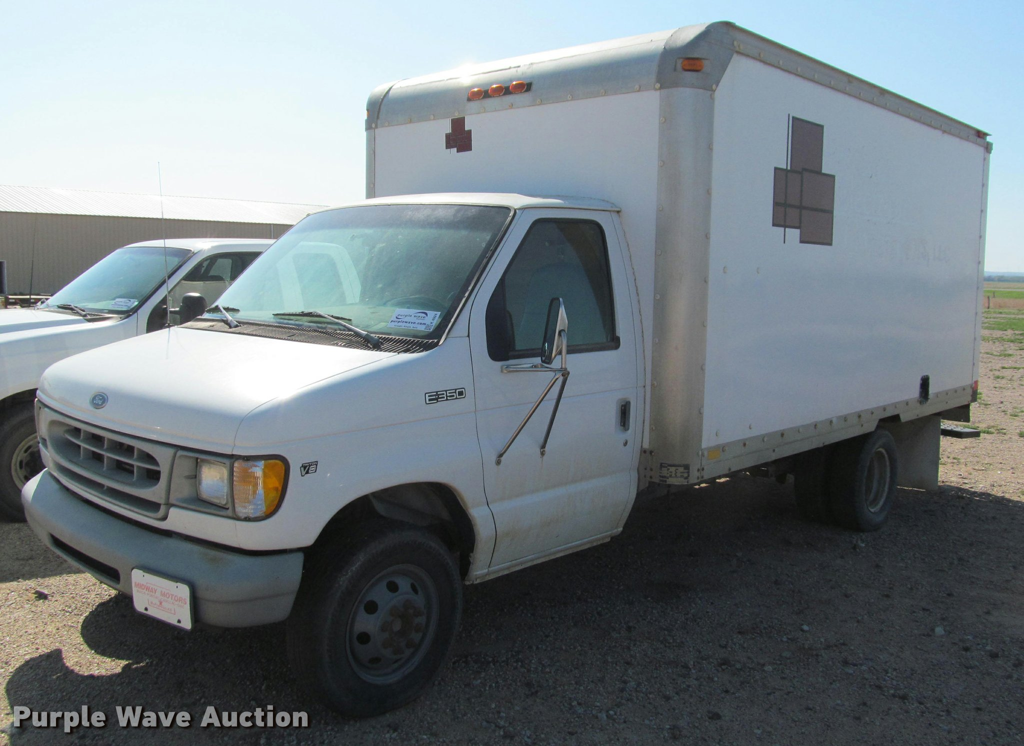 98 ford box truck
