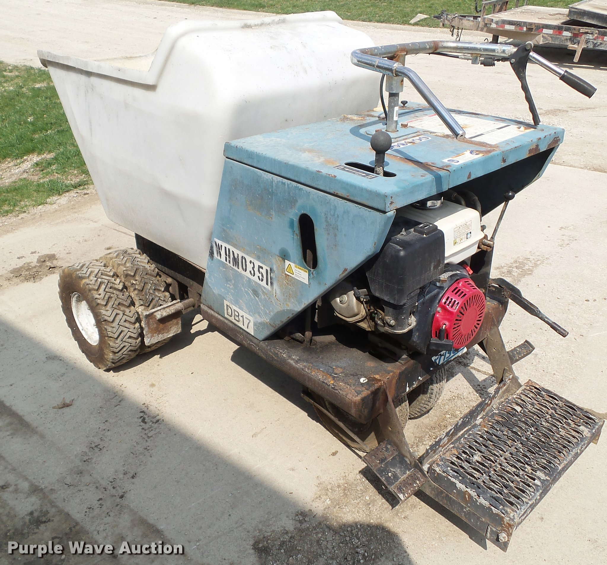 Bartell Morrison DB17P concrete buggy | Item CB9972 | SOLD!
