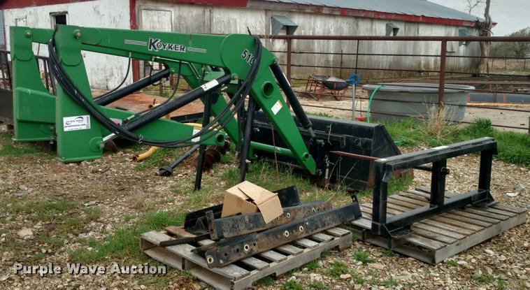 Koyker 510 loader | Item DB0898 | SOLD! May 17 Ag Equipment