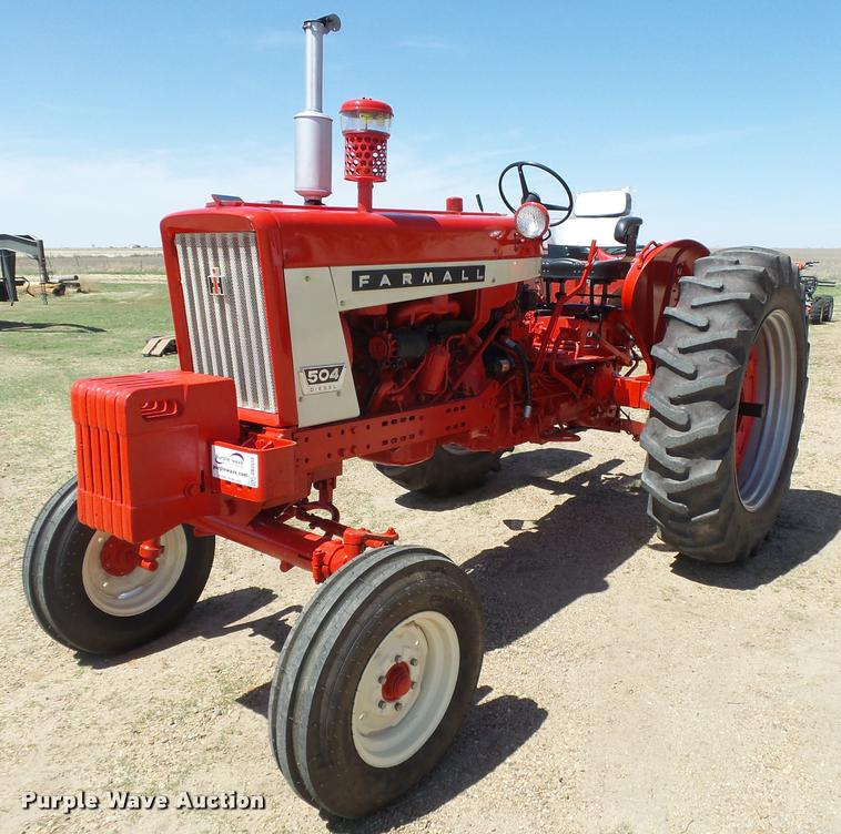 1962 International Farmall 504 Tractor