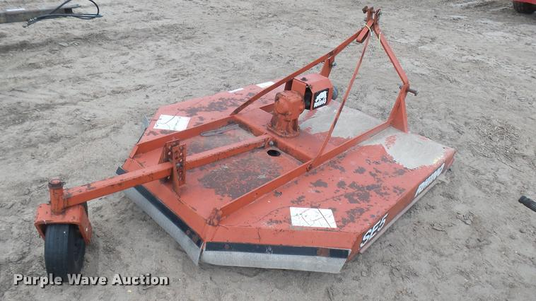 Rhino SE5 rotary mower | Item DM9624 | SOLD! May 17 Ag Equip
