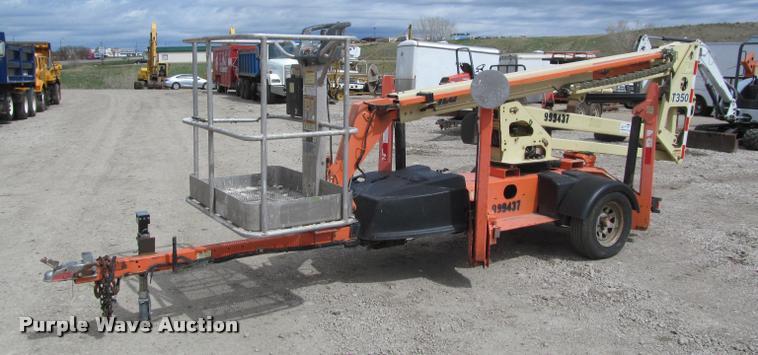 2007 JLG T350 towable boom lift | Item K3947 | SOLD! May 23