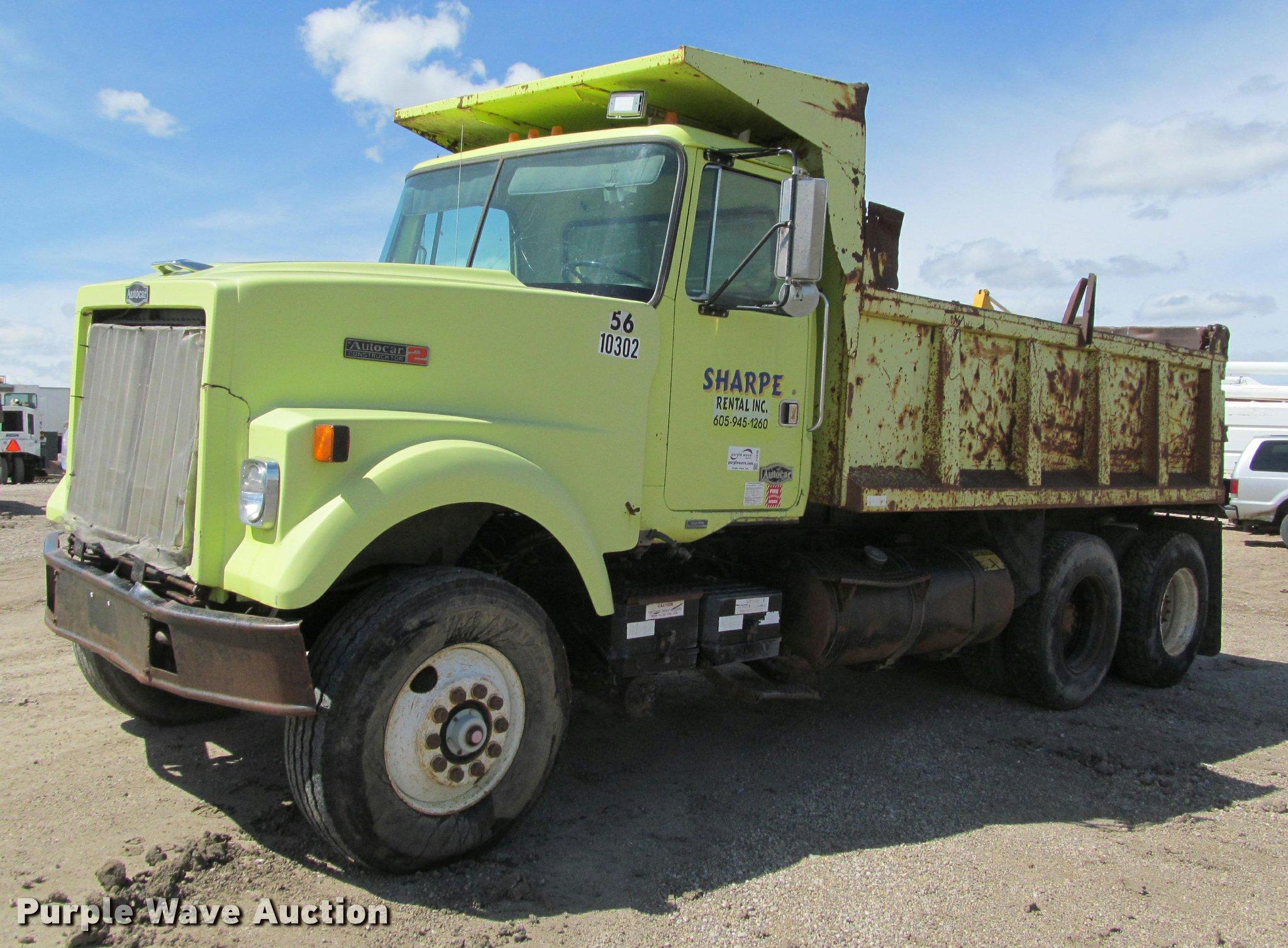J2539 image for item J2539 Volvo White Autocar dump truck