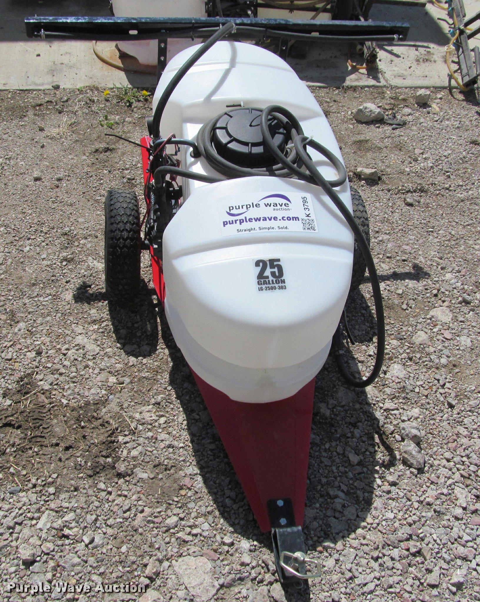 Lawn sprayer trailer   Item K3795   SOLD! May 23 Sharpe Rent