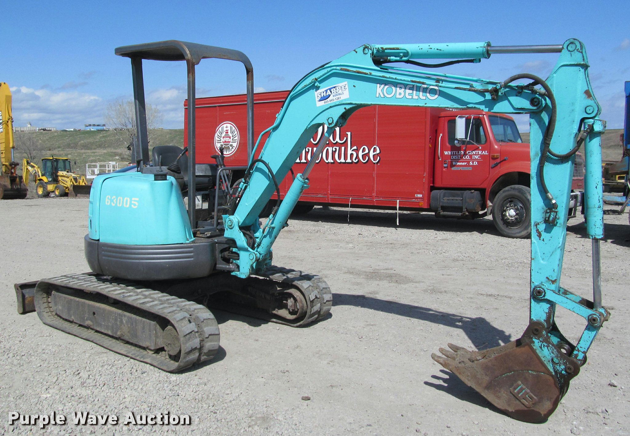Kobelco SK35 mini excavator | Item K3986 | SOLD! May 23 Shar