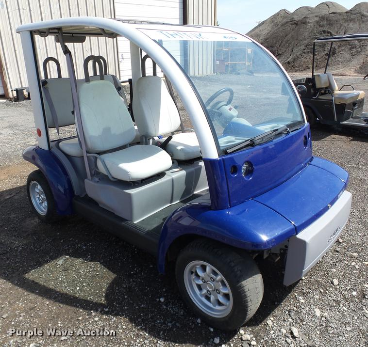 ... DB0181 image for item DB0181 2002 Ford Think Neighbor golf cart & 2002 Ford Think Neighbor golf cart | Item DB0181 | SOLD! May...