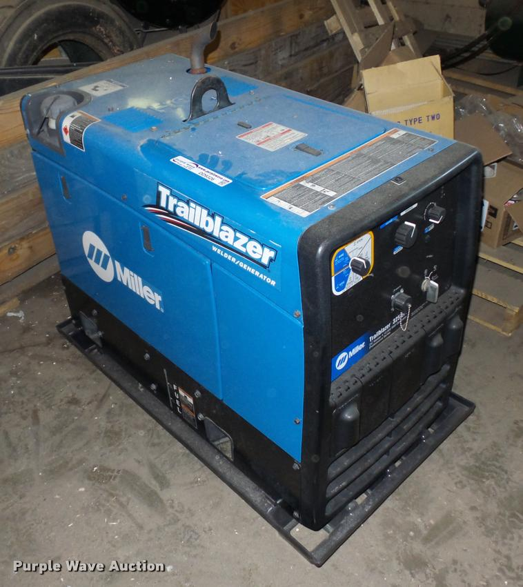 Miller Welders For Sale >> Miller Trailblazer 325 Welder Generator Item Dd9326 Sold