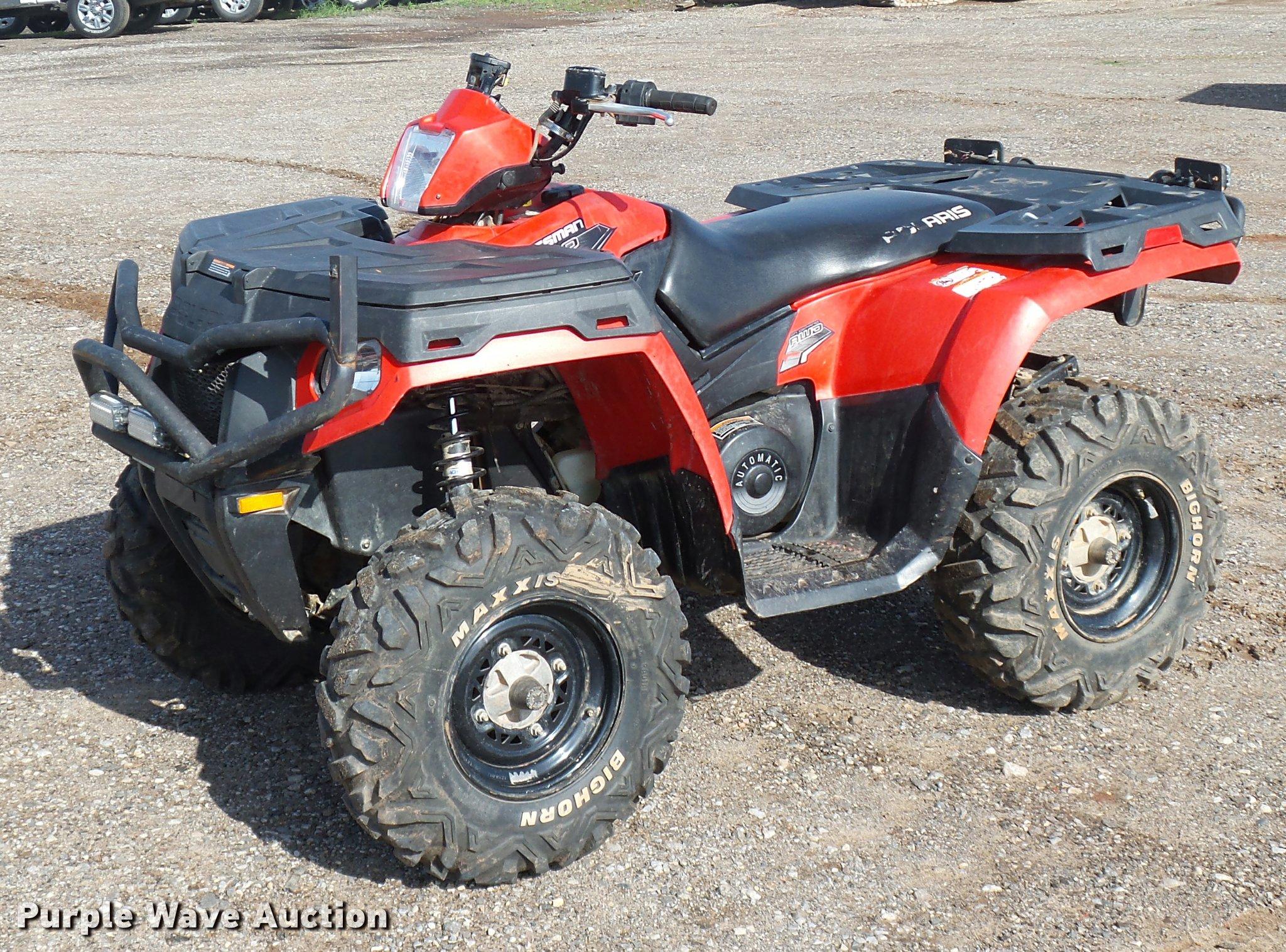 2011 Polaris Sportsman 500 ATV | Item DB0221 | SOLD! May 24
