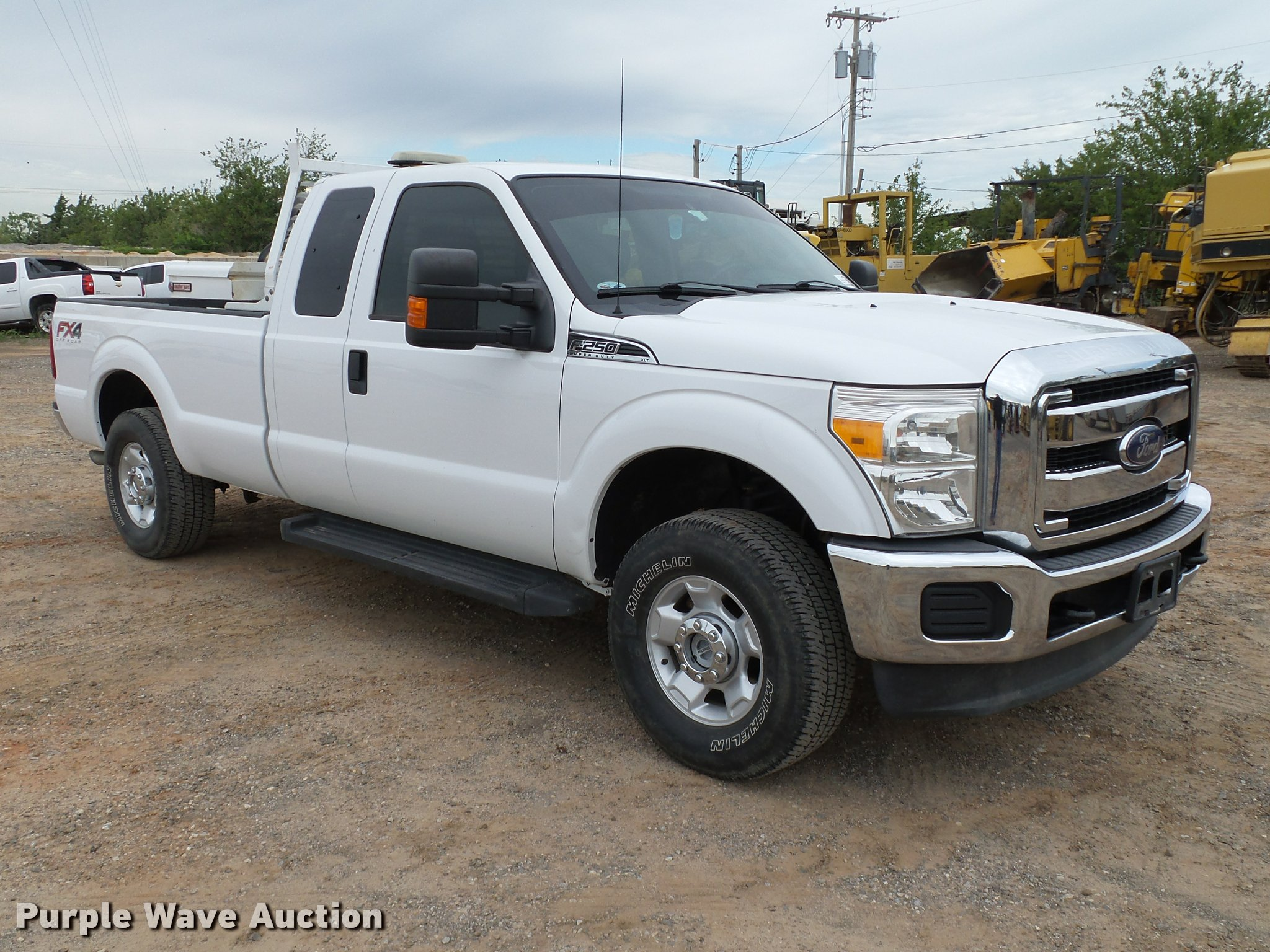 2012 Ford F250 Super Duty XLT FX4 SuperCab pickup truck