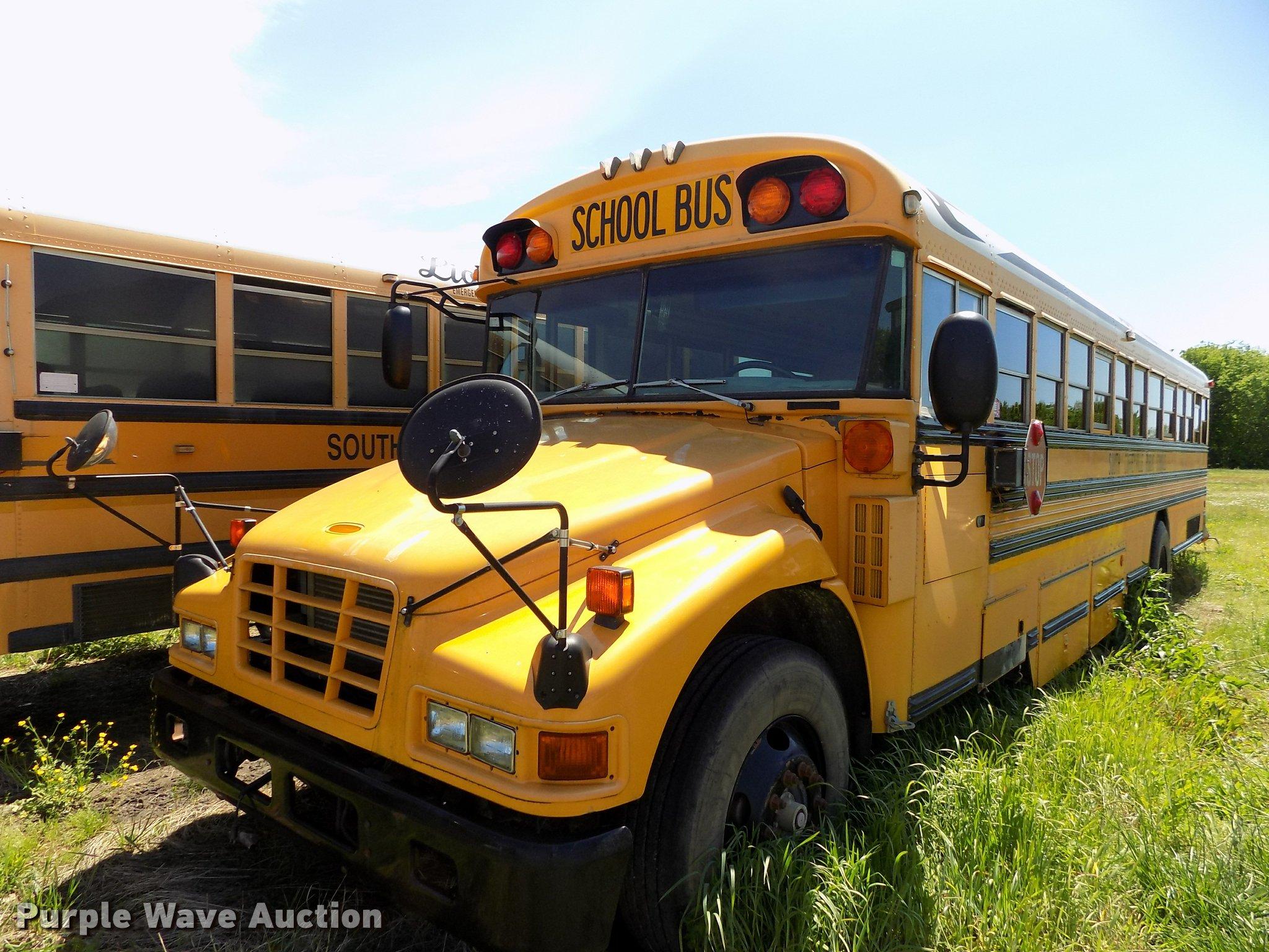 2005 Blue Bird Vision School Bus In South Coffeyville  Ok