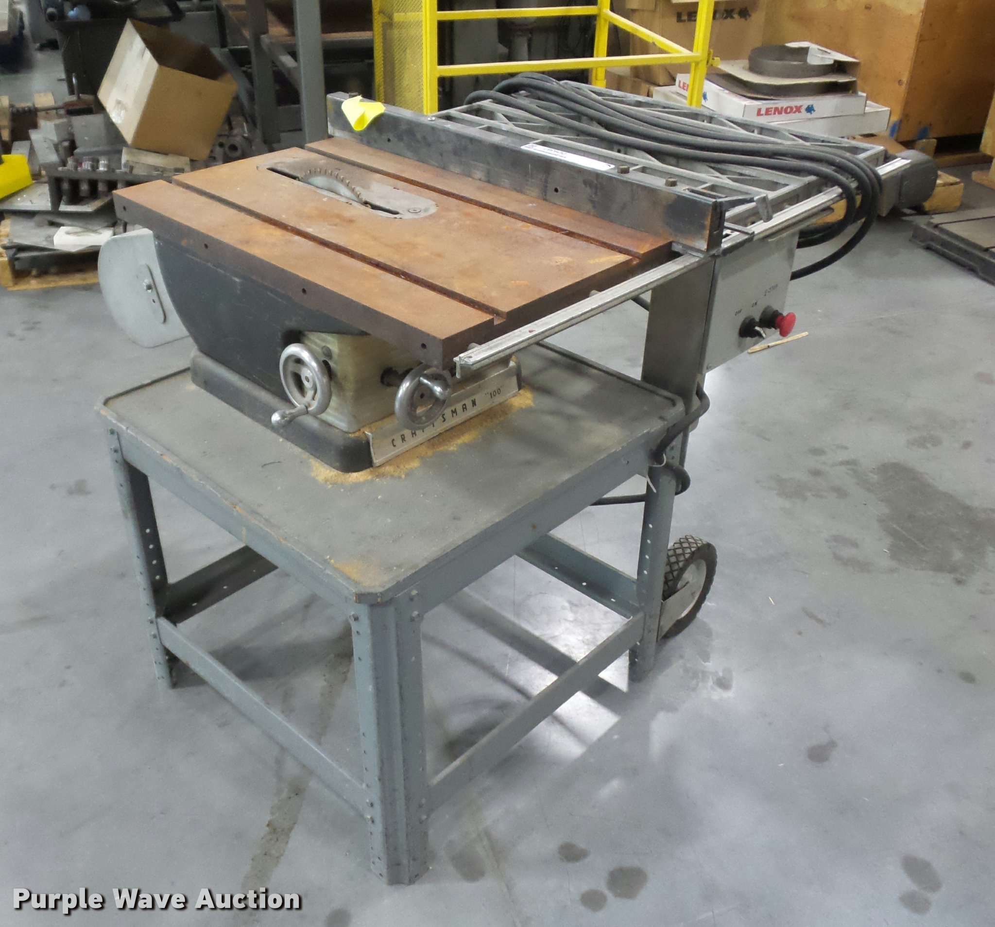 Craftsman table saw | Item DD9387 | SOLD! May 24 Vehicles an