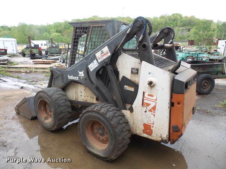 1995 Bobcat 873 C-series skid steer | Item DA8137 | SOLD! Ma
