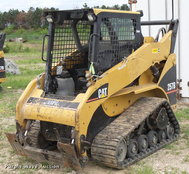 2007 Caterpillar 257B skid steer | Item DD9375 | SOLD! May 2