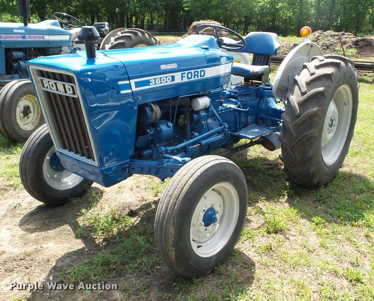 Ford 3600 Diesel : Ford tractor item bi sold may ag