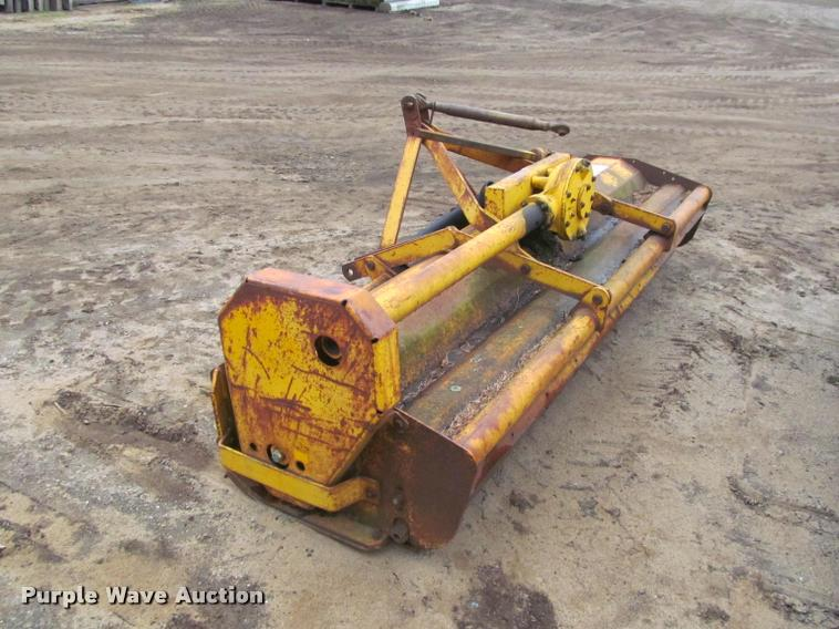 Mott flail mower   Item K4803   SOLD! May 31 Ag Equipment Au