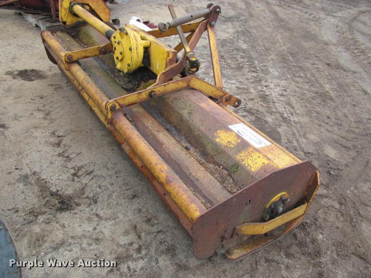 Mott flail mower | Item K4803 | SOLD! May 31 Ag Equipment Au