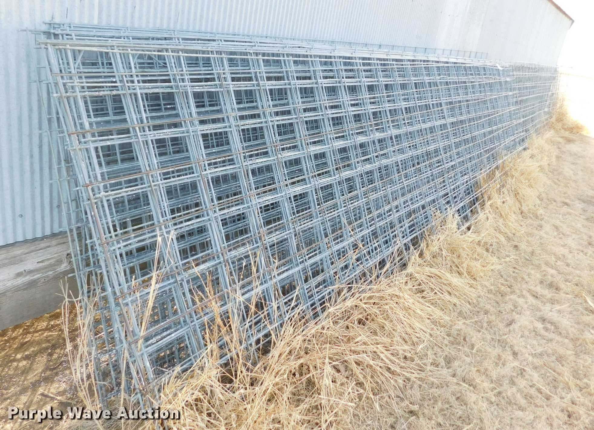 Approximately 34 galvanized cattle panels | Item DI9627 | SO...