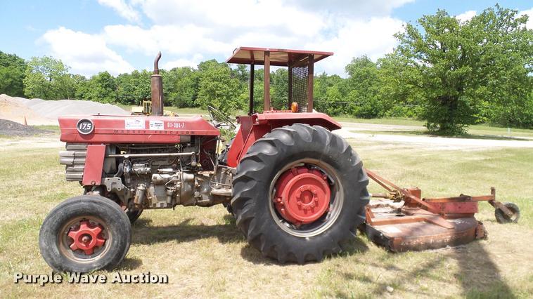 Massey 175 Diesel : Massey ferguson tractor item da sold june