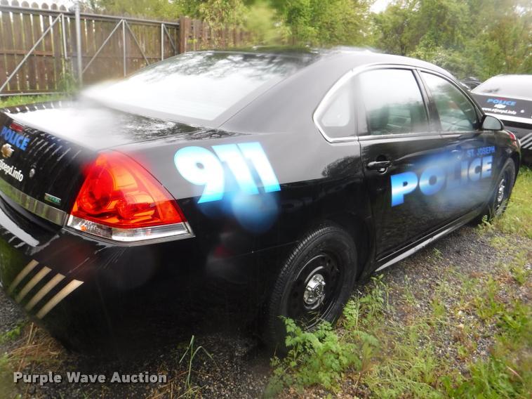 2011 Chevrolet Impala Police Cruiser Item Da8180 Sold J