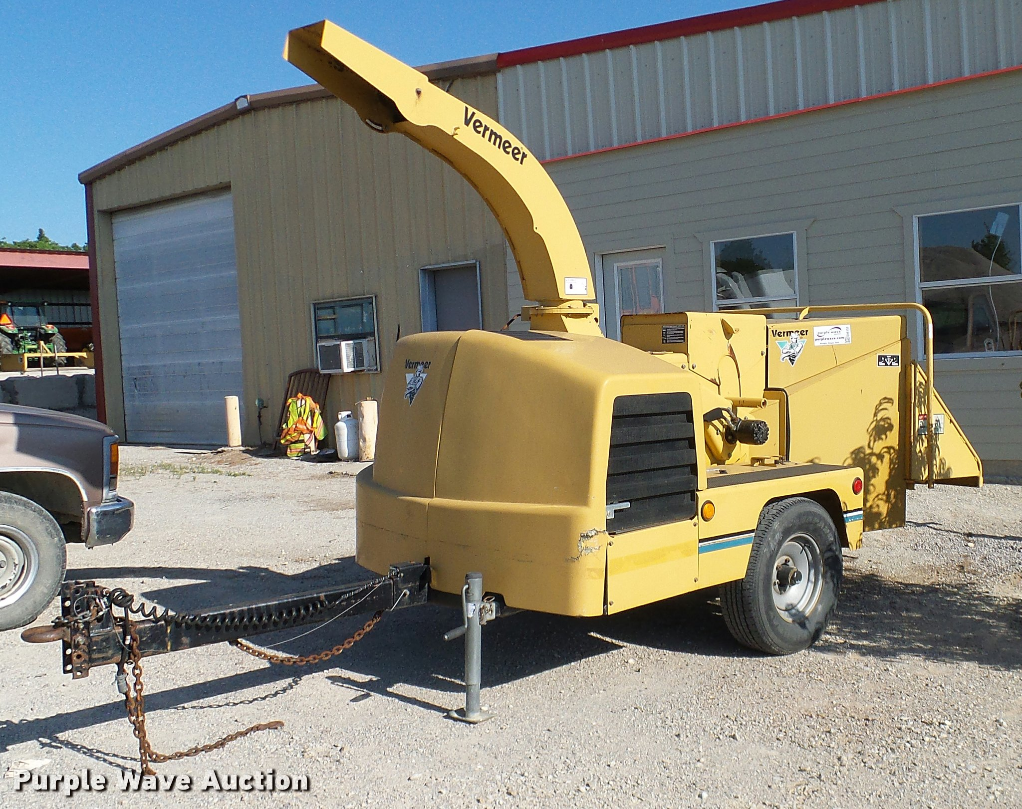 2001 Vermeer BC1000XL wood chipper | Item DA6153 | SOLD! Jun... on