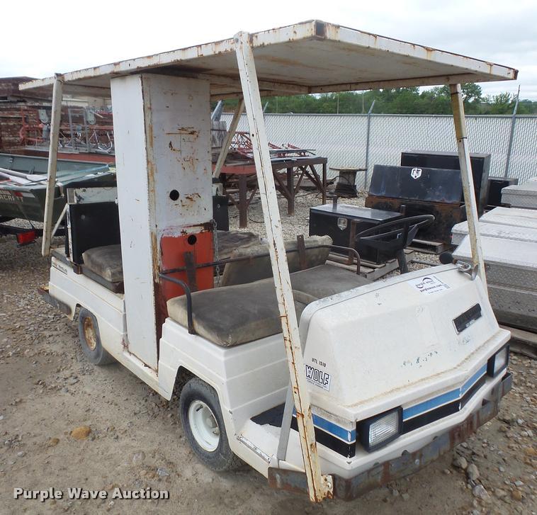 DA8236 Image For Item Pargo Golf Cart