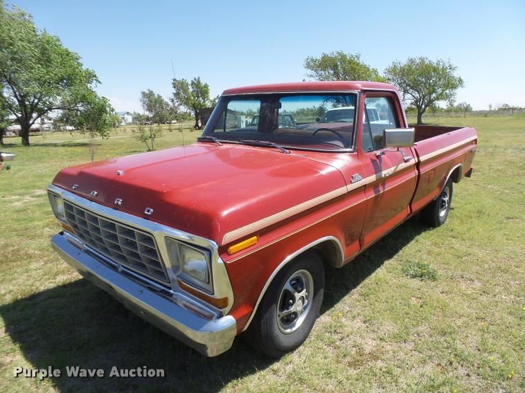 1978 ford f150 ranger explorer pickup truck item db2555. Black Bedroom Furniture Sets. Home Design Ideas