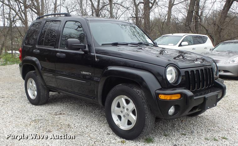 2004 Jeep Liberty Limited Suv Item K7690 Sold June 7 Ve