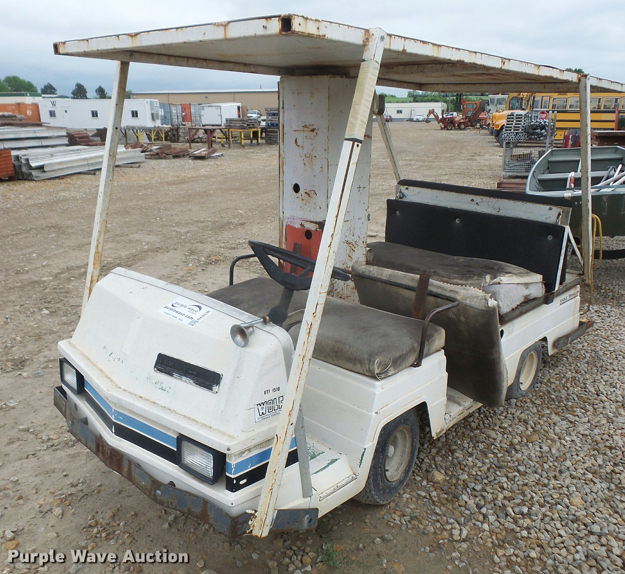 Pargo Golf Cart Gas Bass Taylor Dunn Antique Otis Wiring Diagram Item Da8236 Sold June 7 Vehicles And Eq Vintage