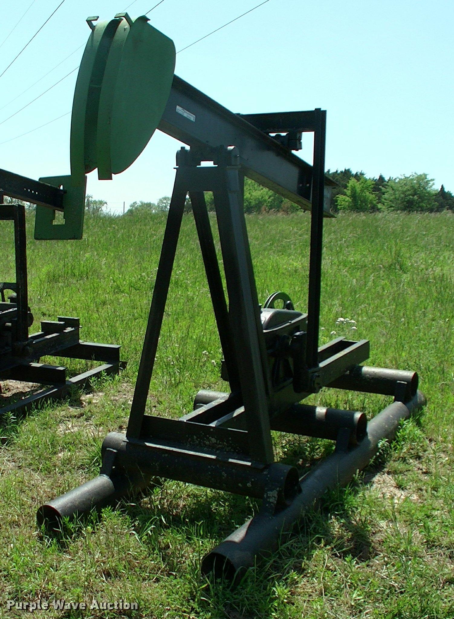 Cook oilfield pump jack   Item DP9404   SOLD! June 7 Vehicle
