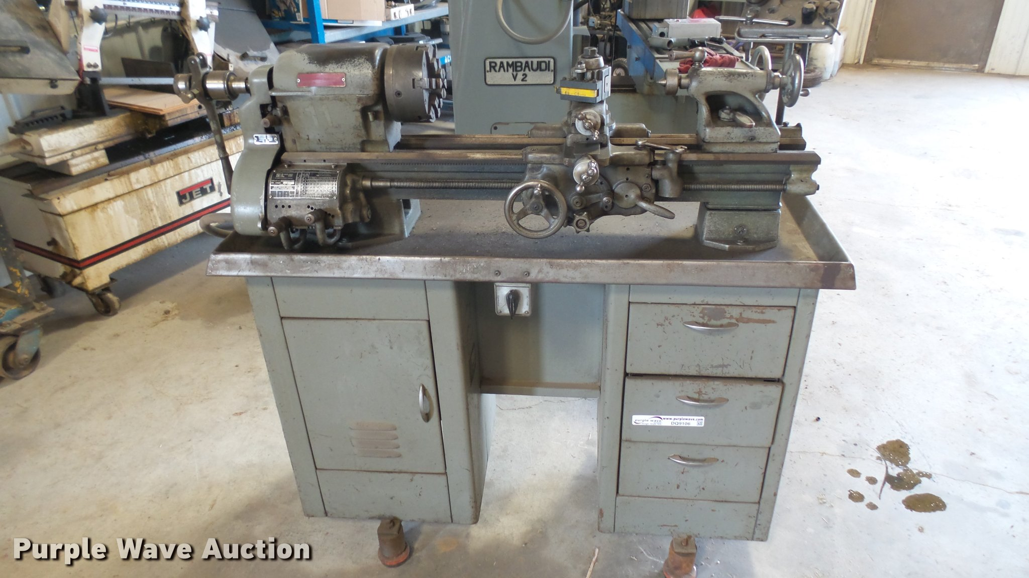 South Bend lathe | Item DQ9106 | SOLD! June 7 Vehicles and E