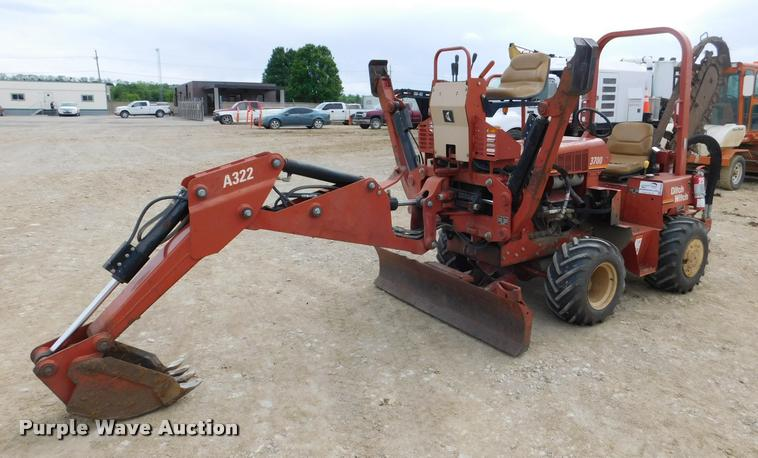 Ditch Witch 3700 Manual on