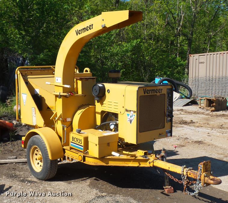 2001 Vermeer BC935 wood chipper | Item DD9433 | SOLD! June 8... on