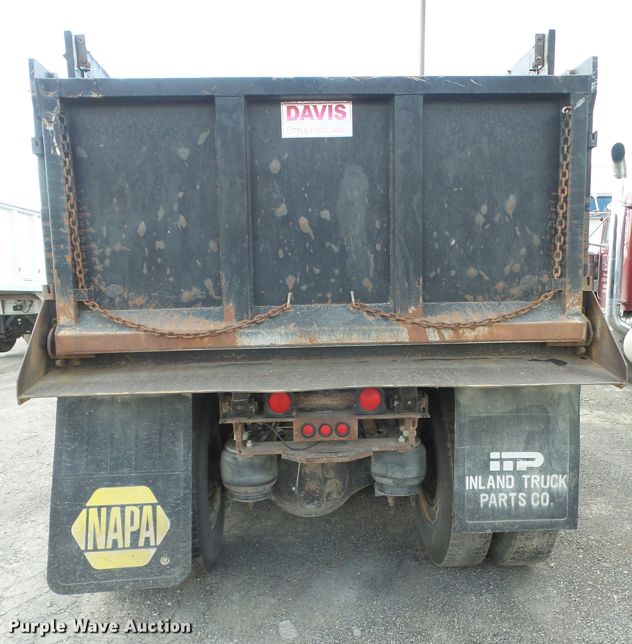 1989 Peterbilt 379 dump truck | Item DA6331 | SOLD! June 8 C