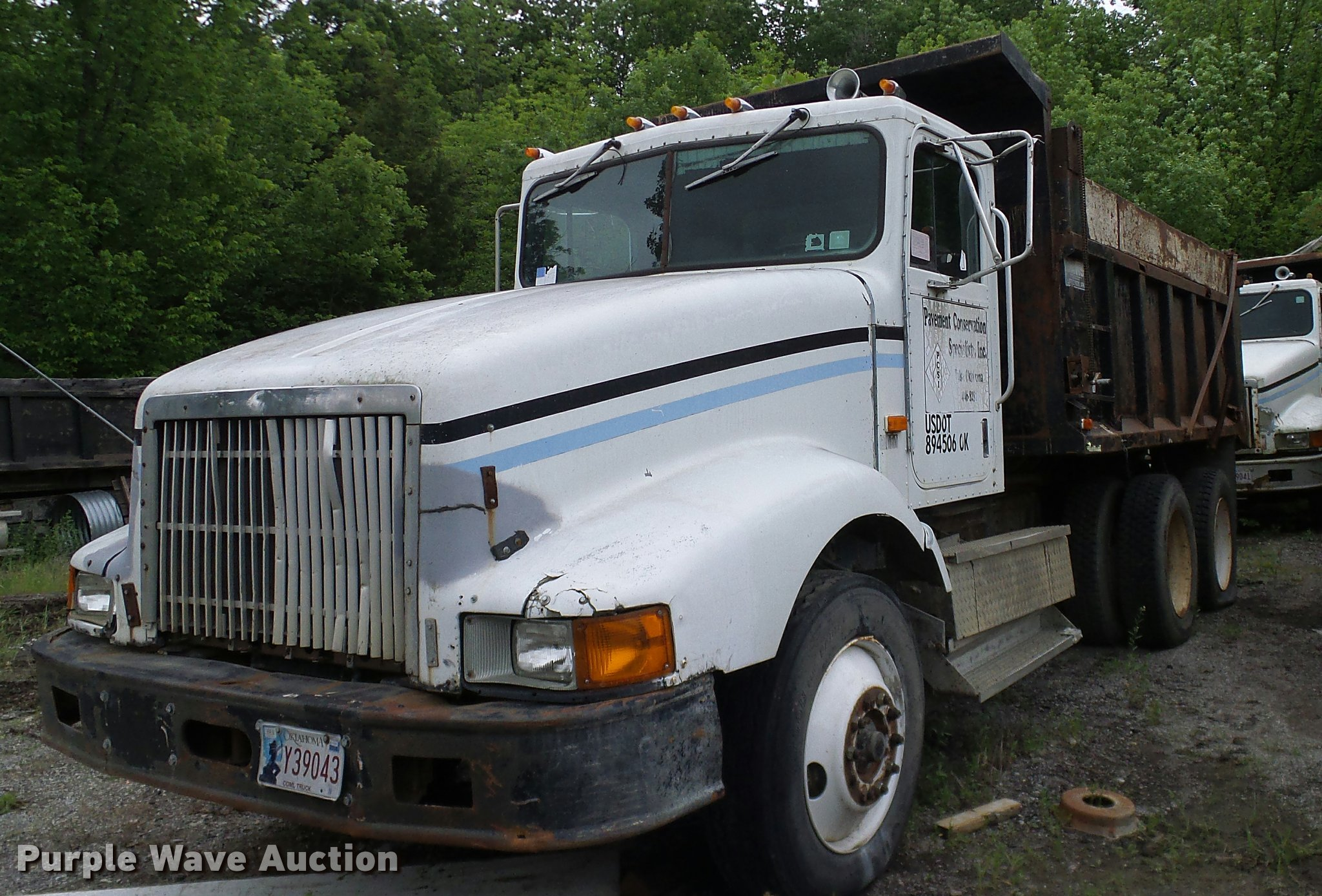 1991 International 9400 dump truck | Item L3062 | SOLD! June
