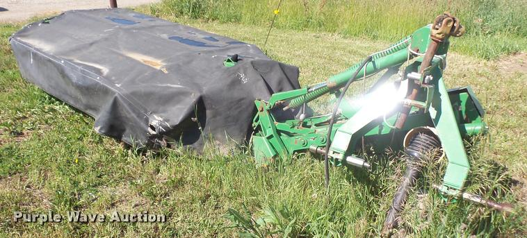 John Deere 275 disc mower | Item DA6390 | SOLD! June 14 Ag E