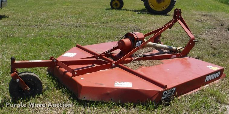 Rhino SE7 rotary mower | Item DJ9180 | SOLD! June 14 Ag Equi