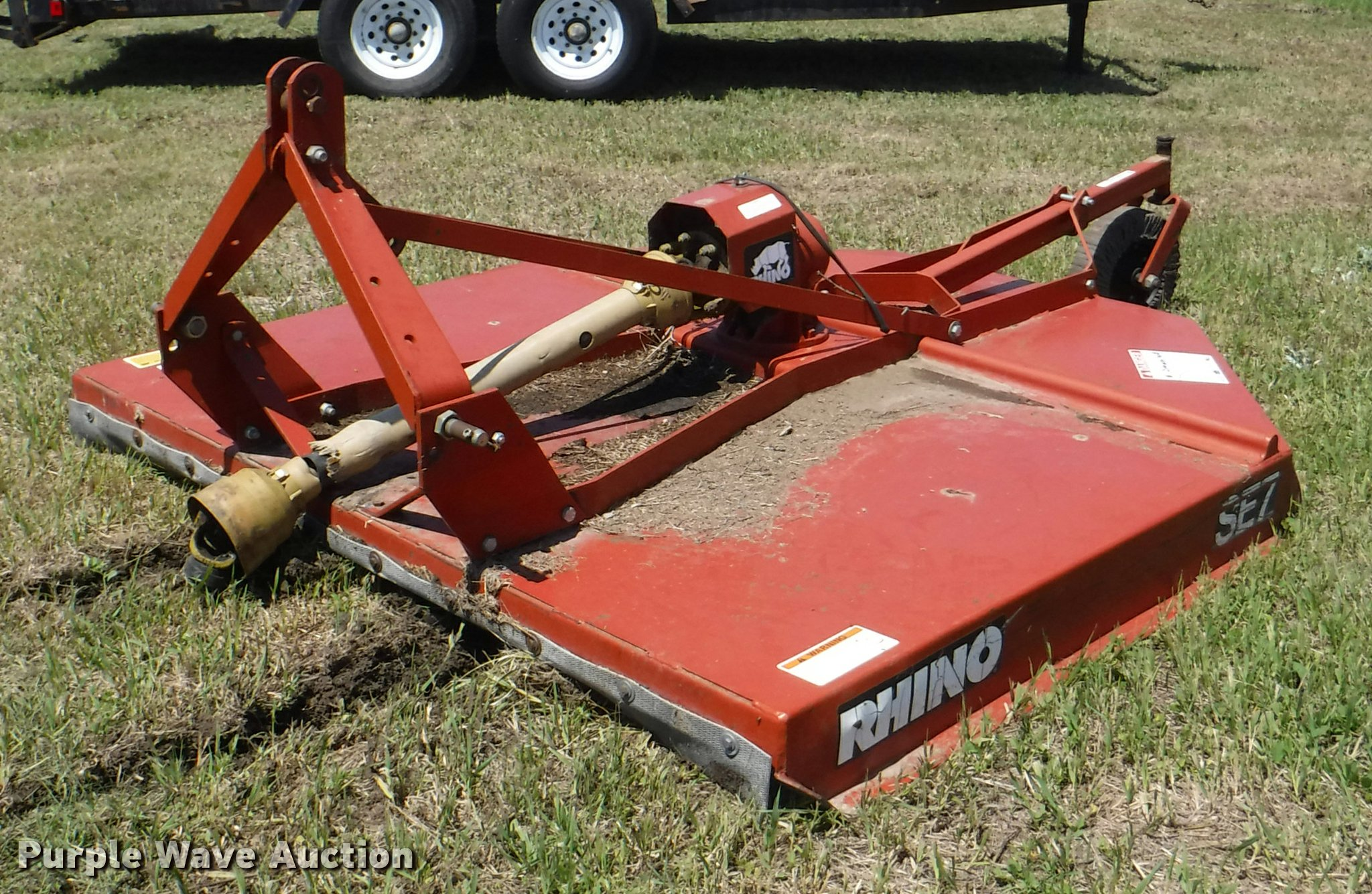 Rhino SE7 rotary mower | Item DJ9180 | SOLD! June 14 Ag Equi