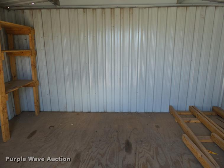 Madden Portable Buildings storage shed | Item AP9253 | 6 ...