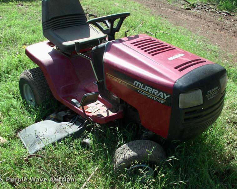 Murray Widebody LT Lawn Mower Item DP9342 SOLD June 20