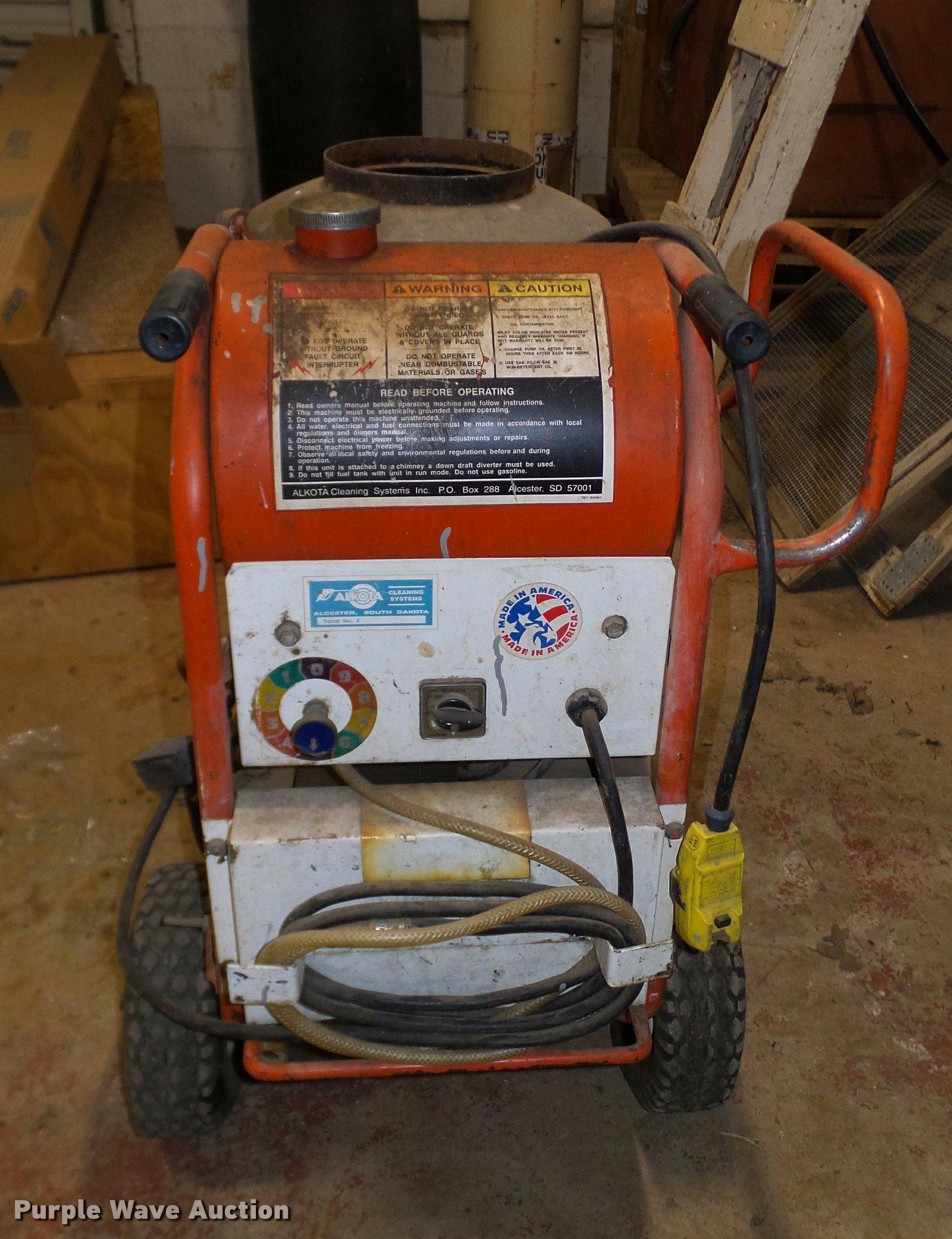 alkota 2142re pressure washer item dj9955 sold! june 20 coleman wiring diagram full size in new window