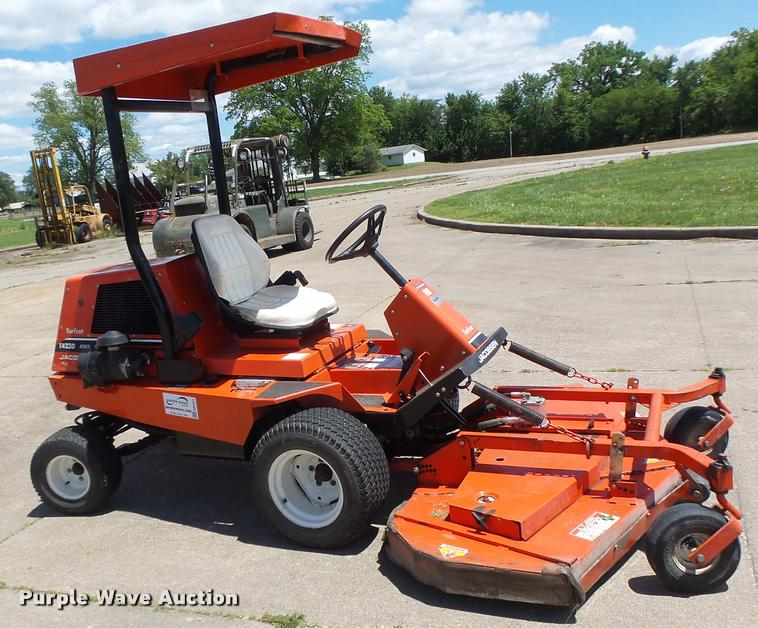 Jacobsen T423d Turfcat Lawn Mower Item Db1341 Sold