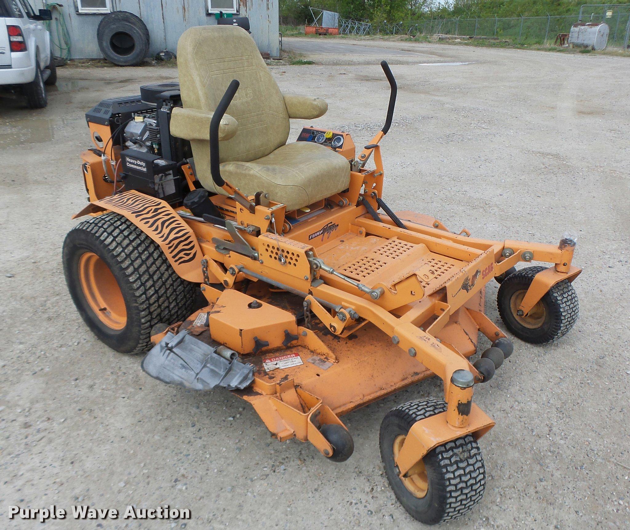 Turf Tiger SMT-61A lawn mower | Item DA3479 | SOLD! June 21